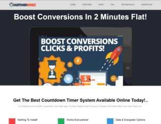 countdownmonkey.com screenshot