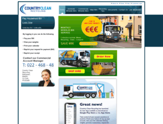 countryclean.ie screenshot