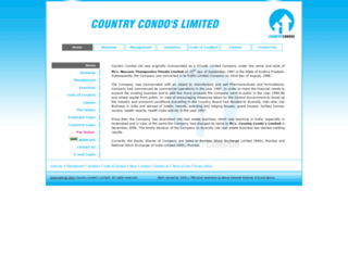 countrycondos.co.in screenshot