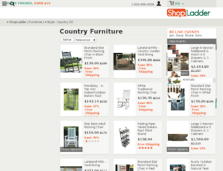 countryfurnitureoutlet.com screenshot