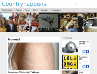 countryhappens.com screenshot
