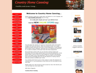 countryhomecanning.com screenshot