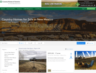 countryhomesofnewmexico.com screenshot