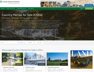 countryhomesofohio.com screenshot