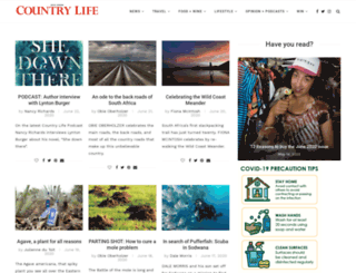 countrylife.co.za screenshot