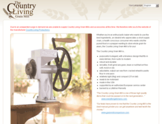 countrylivinggrainmills.eu screenshot