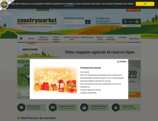 countrymarket.fr screenshot