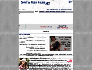 countrymusiconline.net screenshot