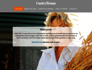 countrywomanmagazine.com screenshot