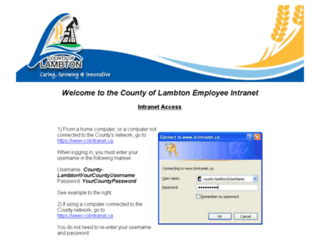 county-lambton.on.ca screenshot