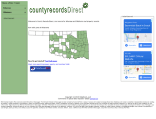 countyrecordsdirect.com screenshot