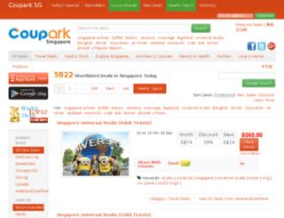 coupark.com screenshot