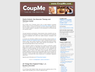 coupme.wordpress.com screenshot