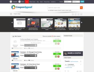couponappeal.com screenshot