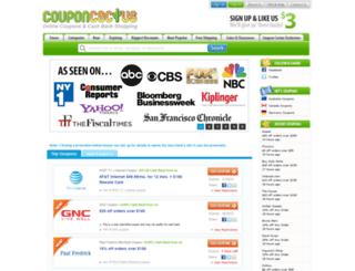 couponcactus.com screenshot