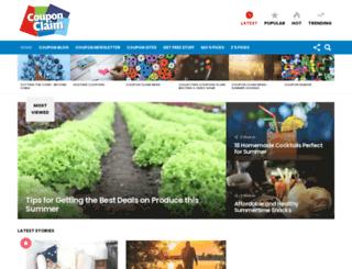 couponclaim.com screenshot