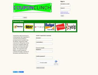 couponclinch.com screenshot
