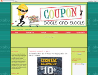 coupondealsandsteals.blogspot.com screenshot