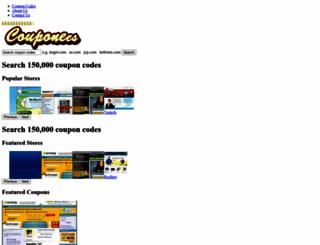couponees.com screenshot