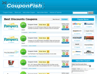 couponfish.co.uk screenshot