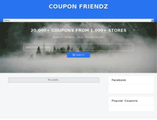 couponfriendz.com screenshot