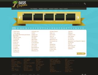 couponoasis.com screenshot