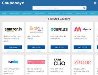 couponoye.com screenshot