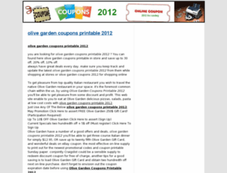 coupons-printable-2012.com screenshot
