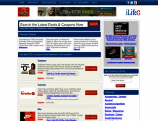 couponsdealspromos.com screenshot