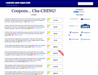 couponsdealuxe.com screenshot