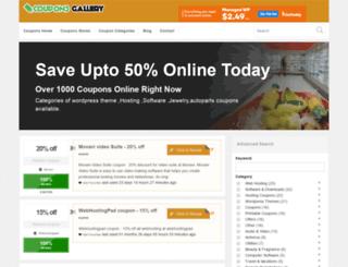 couponsgallery.net screenshot