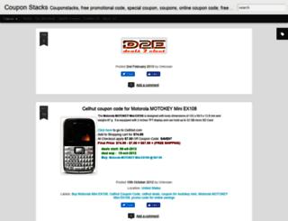 couponstacks.blogspot.in screenshot