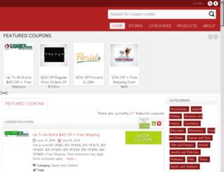 couponsuits.com screenshot