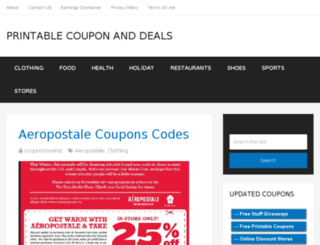 couponzonehq.com screenshot
