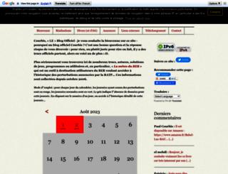 courbis.fr screenshot