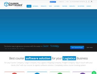 couriersoftwares.com screenshot