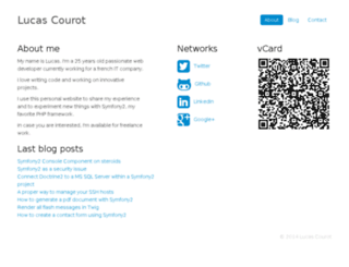 courot.com screenshot