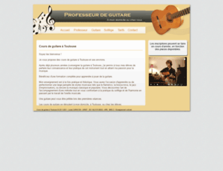 cours-guitare-toulouse.fr screenshot