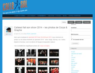 cours-tango-paris.com screenshot
