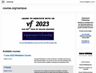 course.org screenshot