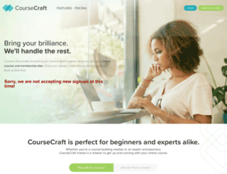 coursecraft.net screenshot