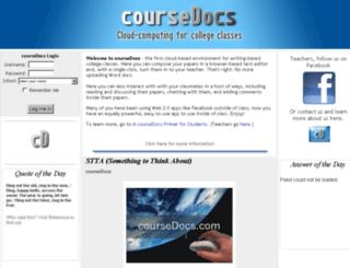 coursedocs.com screenshot