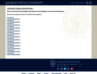 Access Courses Georgetown Edu Exploregeorgetown