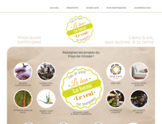 courtbouillon-paysdegrasse.com screenshot