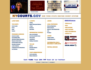 courts.state.ny.us screenshot