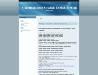 courttranslator-swedish-english-serbian.com screenshot