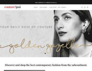 couturerani.com screenshot