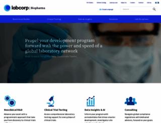 covance.com screenshot