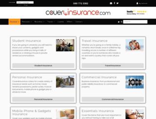 cover4insurance.com screenshot