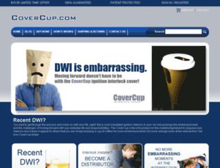 covercup.com screenshot